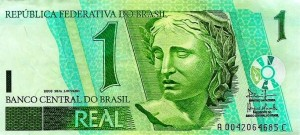 billete real brasileño